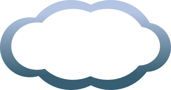 png freeuse stock Thunder Cloud Clip Art at Clker