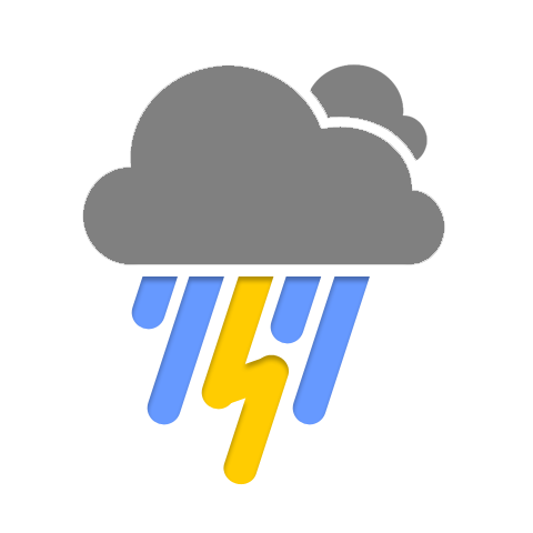vector freeuse stock Thunderstorm PNG Transparent Images
