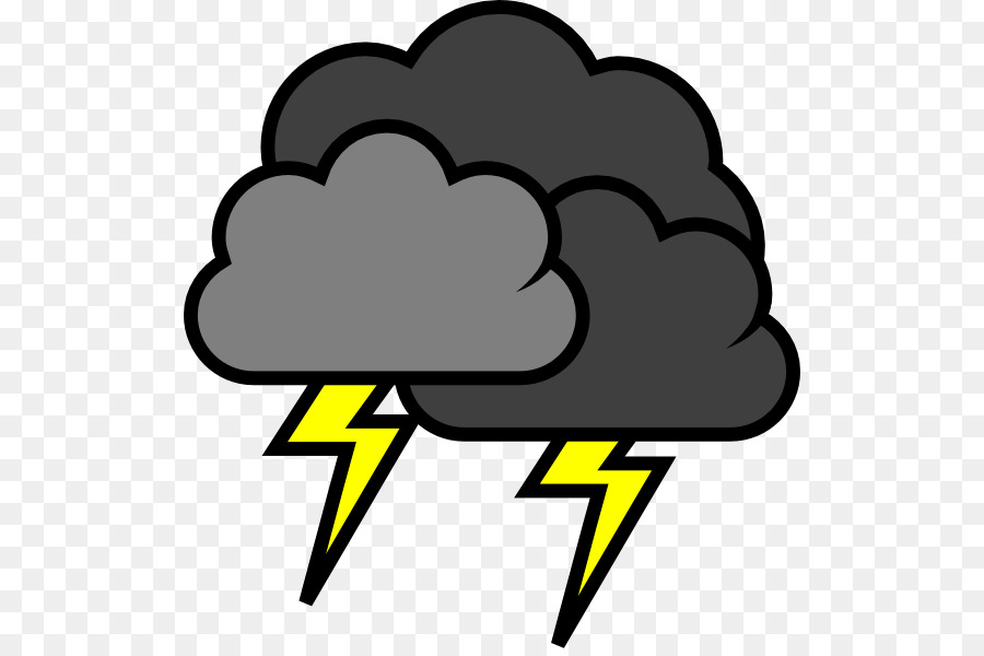 png freeuse stock Thunderstorm weather forecast . Thunder cloud clipart.
