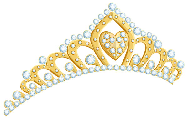 clip art free library Tiara clipart. Golden png image kate.