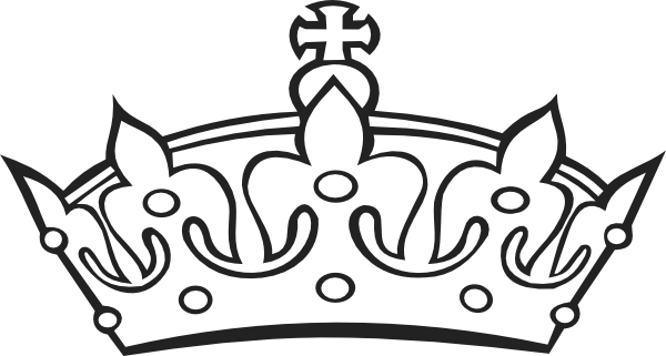 clip stock Tiara clipart black and white. Clip art at clker