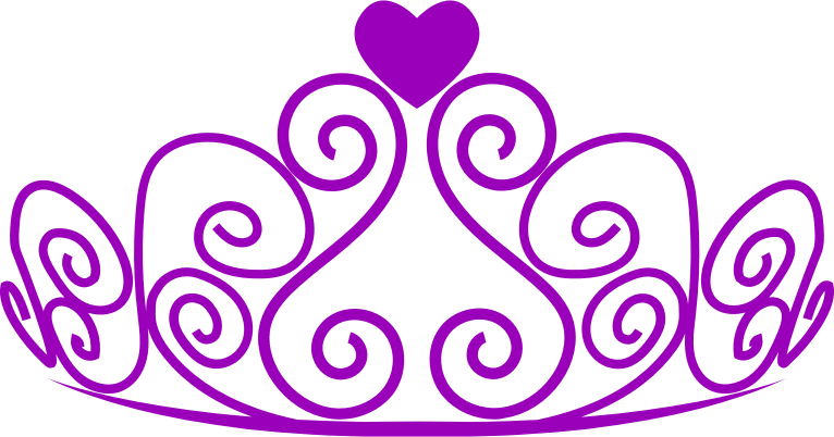 image library library The top best blogs. Tiara clipart black and white