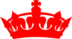 png free stock Red Crown Clip Art at Clker