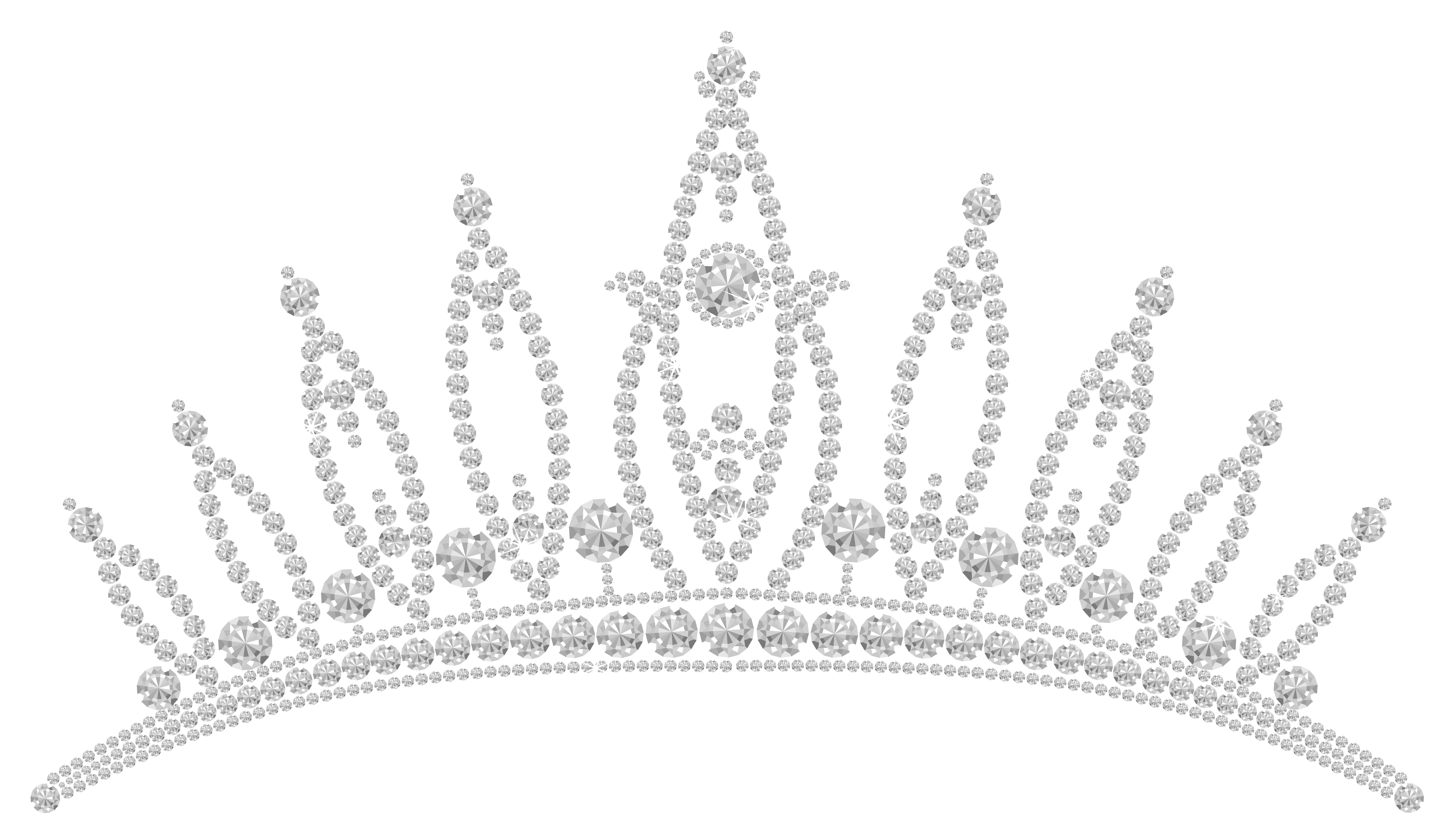 image transparent Tiara clipart transparent background. Diamond png picture gallery