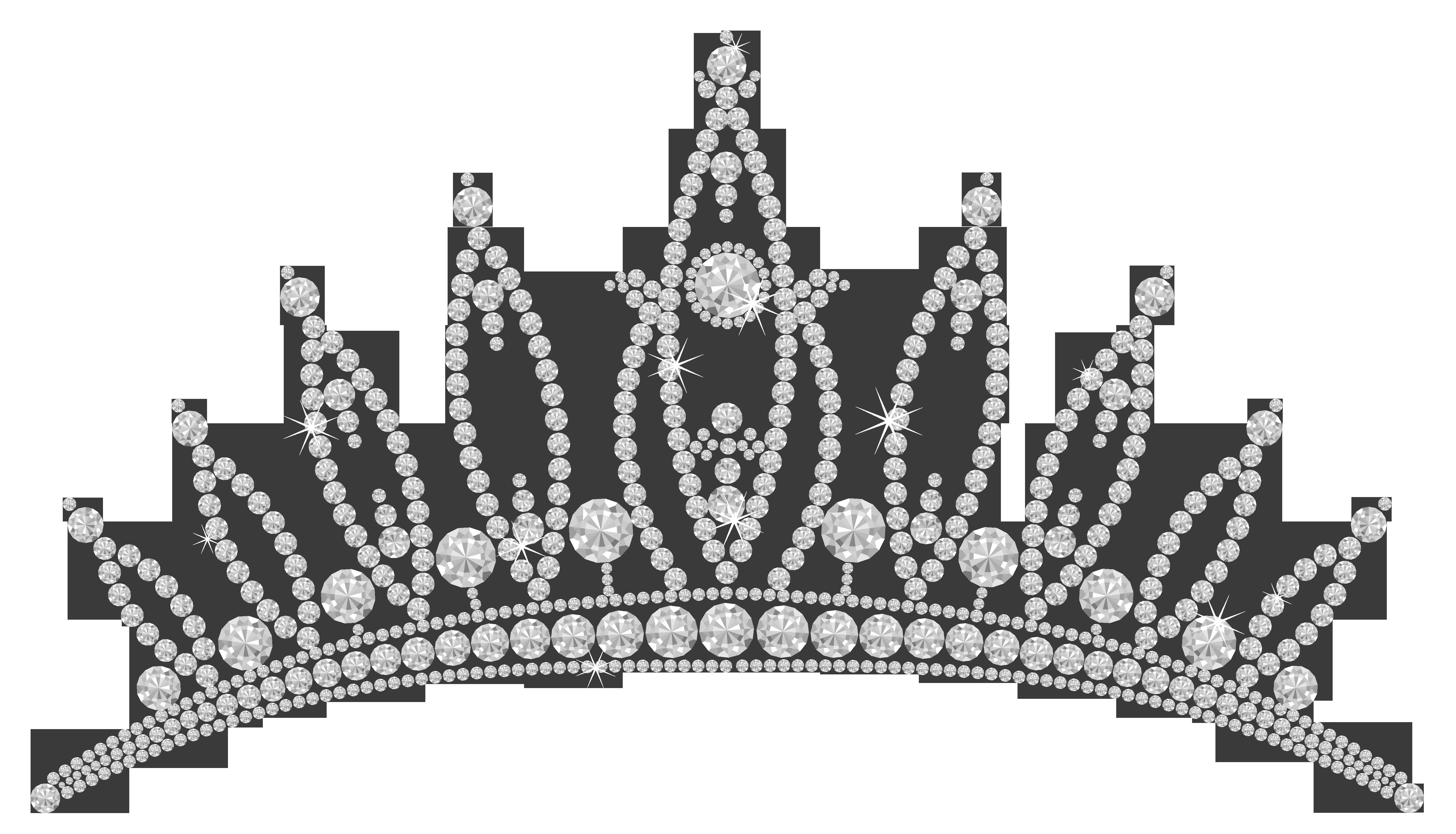 clip art transparent download Transparent tiara. Diamond png clipart picture