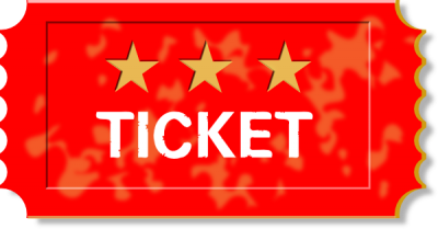 clip art freeuse Ticket clipart. Clipartaz free collection tickets