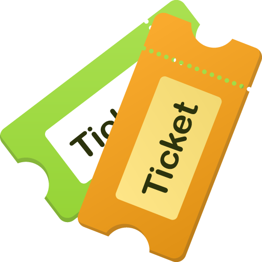 png library library Ticket Background PNG