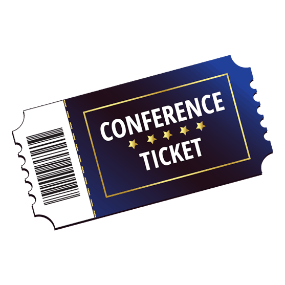 image black and white ticket transparent conference #104840689