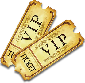 graphic Vip Ticket PNG Transparent Vip Ticket