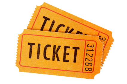 picture free library Ticket Transparent Images PNG