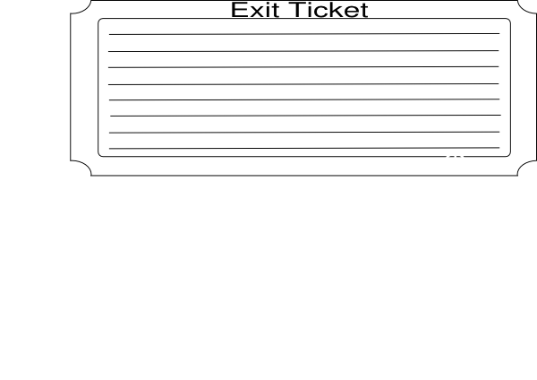 clipart stock Clip art at clker. Arcade clipart exit ticket.