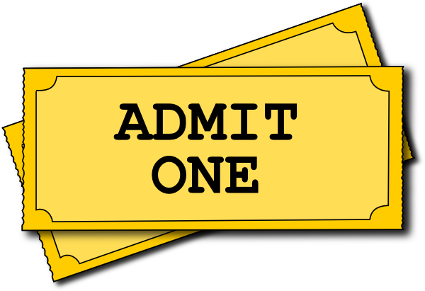 svg royalty free download Cinema Ticket Clip Art at Clker