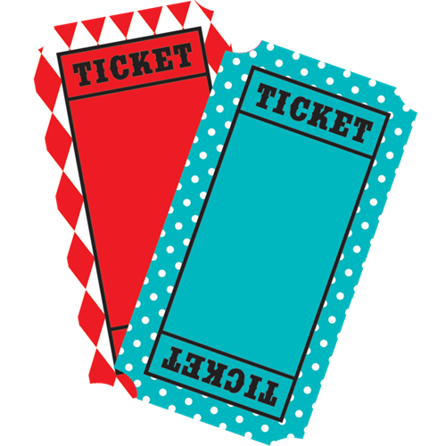 clipart library library Carnival Tickets