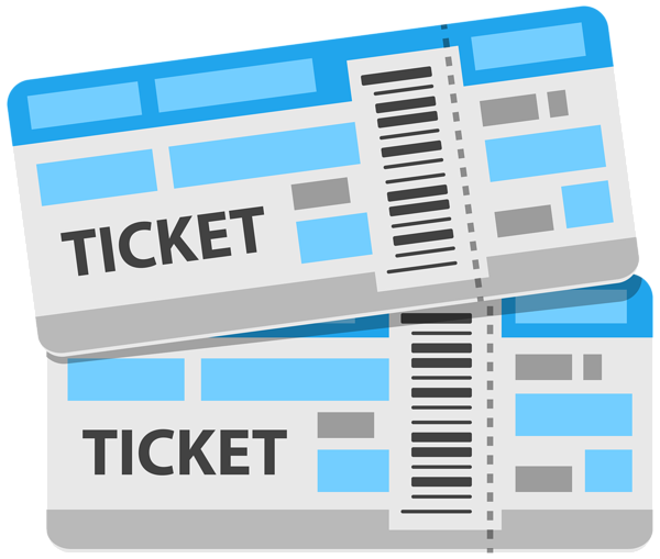 vector royalty free Tickets PNG Clipart Image