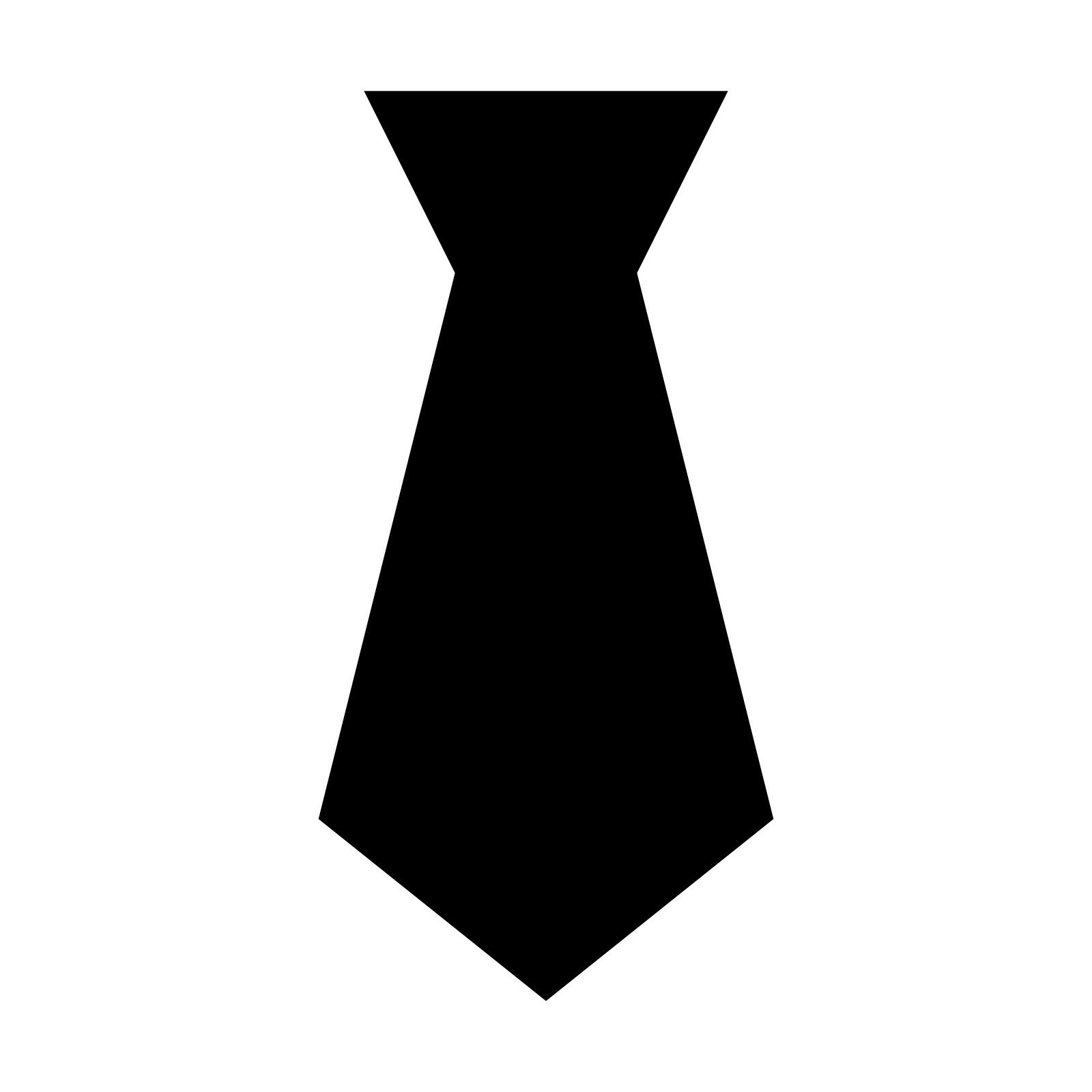 image royalty free Tie clipart. Silhouette free on dumielauxepices