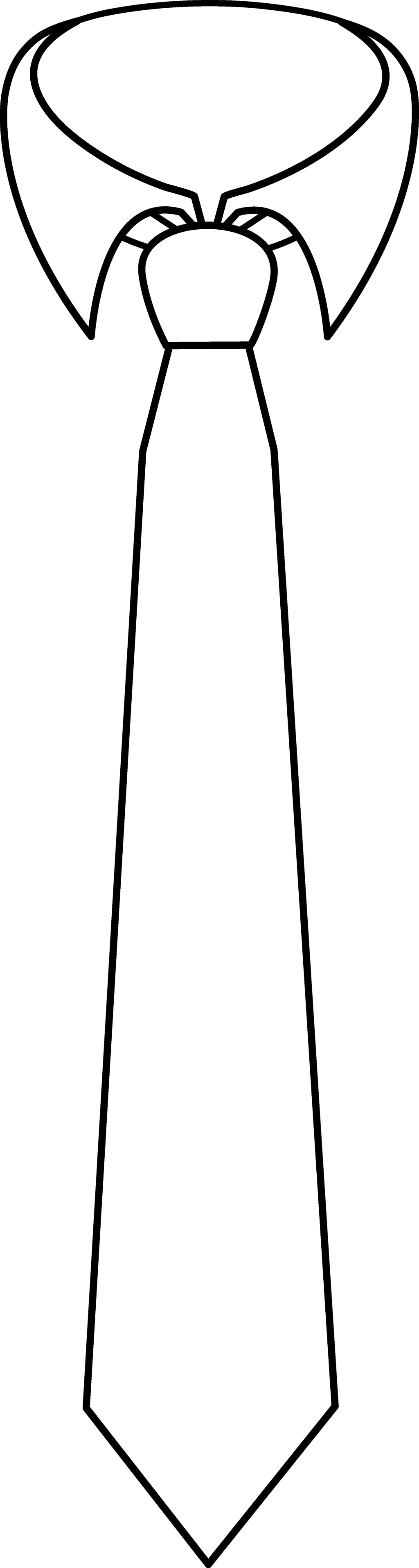 png stock Tie clipart black and white.  images of large