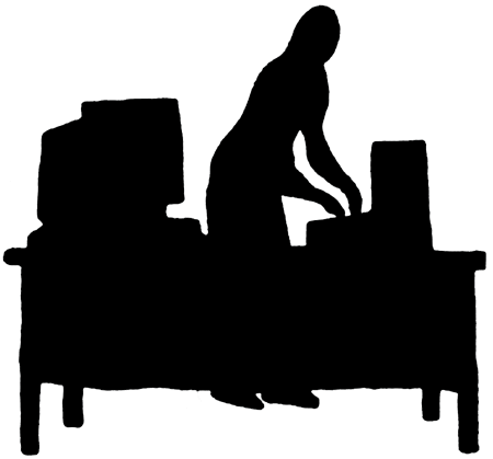 graphic download Silhouette Office at GetDrawings