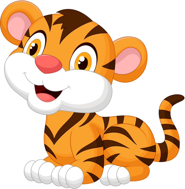 clip black and white download  png pinterest tigers. Vector cartoons baby