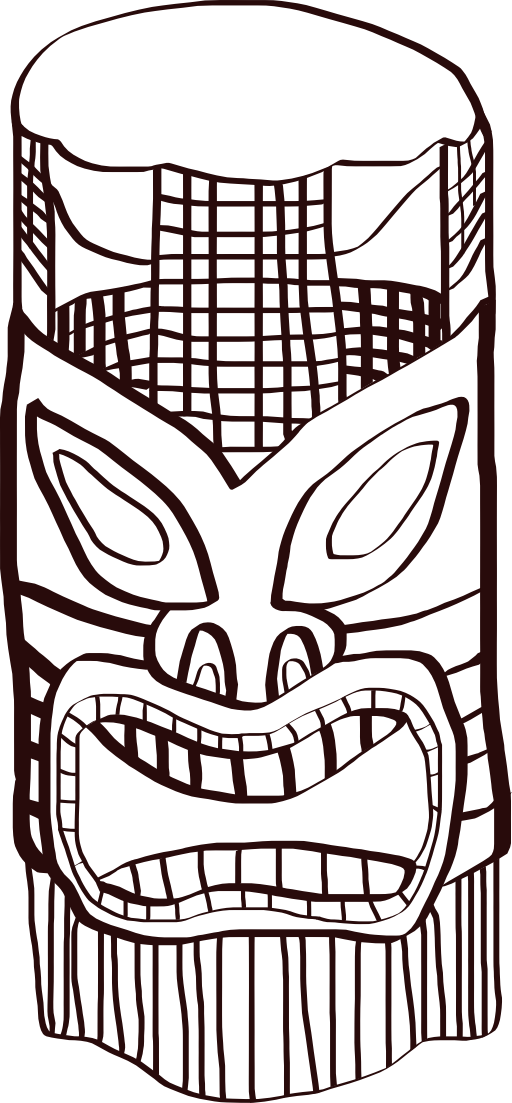 clipart free download I royalty free public. Tiki clipart