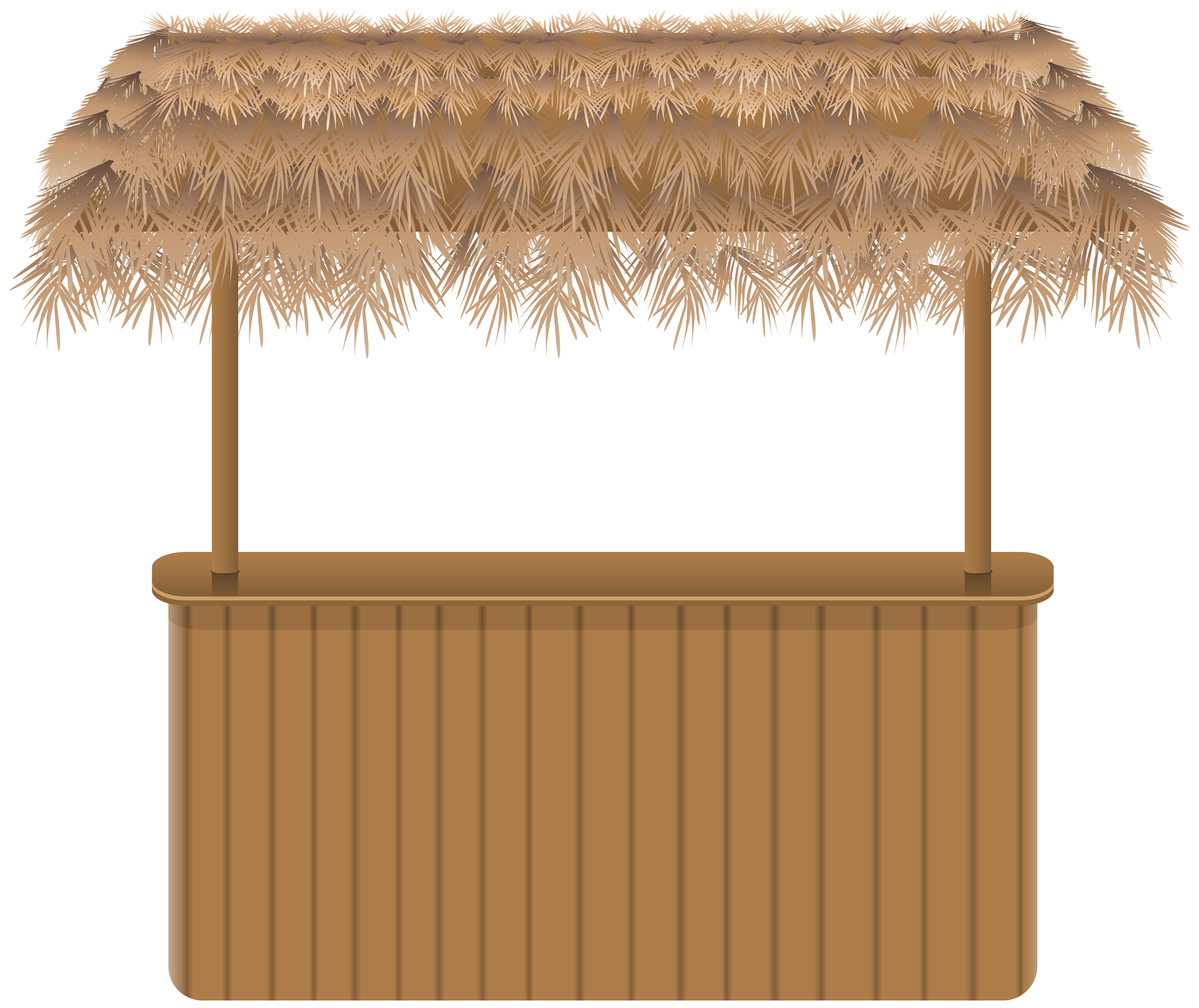 clip black and white library Tiki clipart banner. Beach bar png clipar.