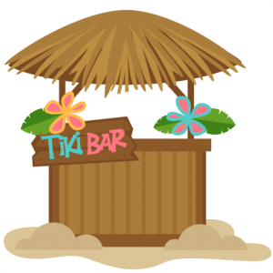 clip black and white library Bar miss kate cuttables. Tiki clipart tiki drink