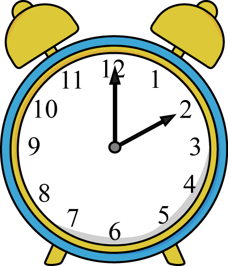 png black and white stock Time clock clipart