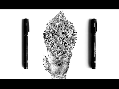 picture download Detailed Hand Doodle Timelapse Drawing by Conor McAllister