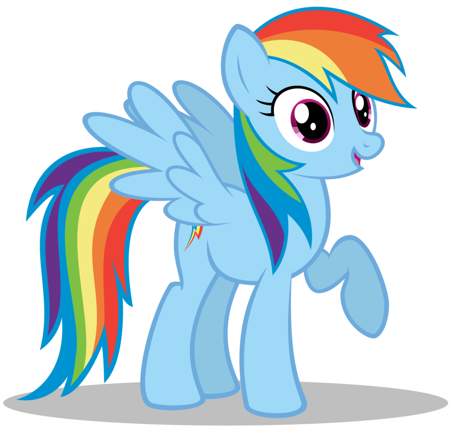 banner transparent library My Little Pony Drawing Rainbow Dash at GetDrawings