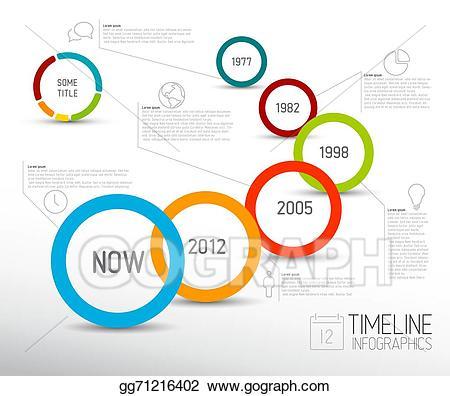 banner library download Timeline clipart. Vector illustration infographic light