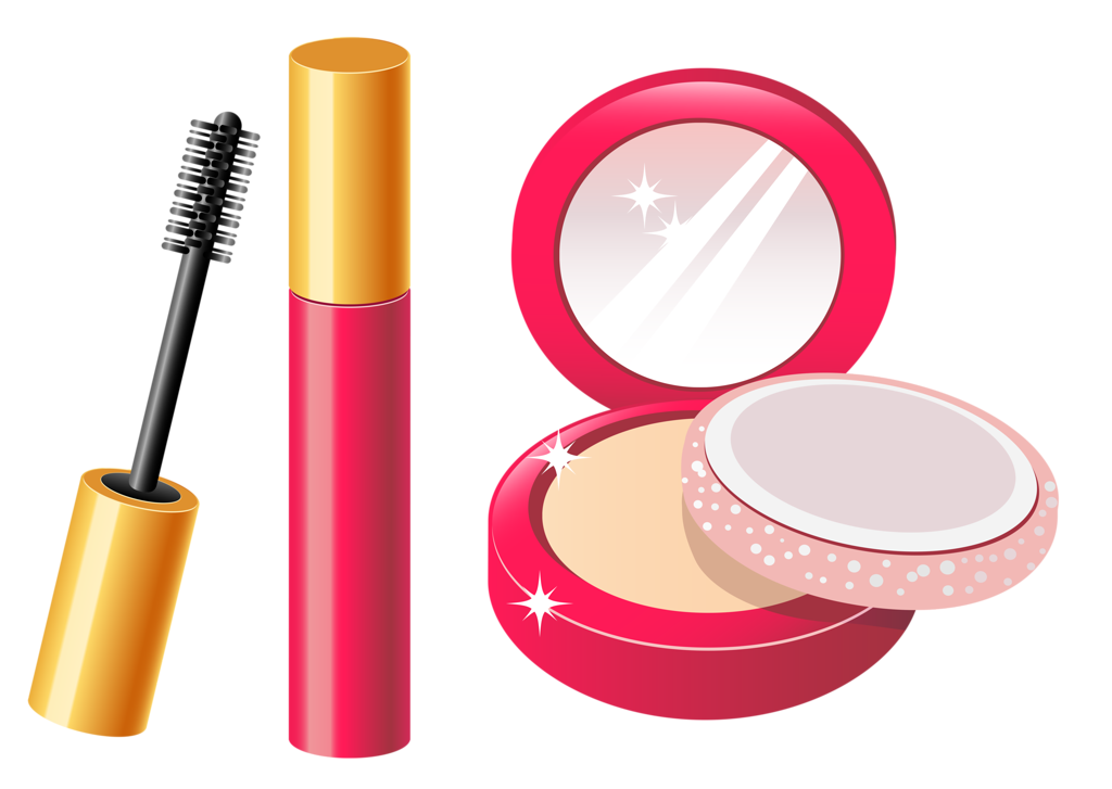 clip freeuse library Timeline clipart makeup cosmetic.  png craft ideas