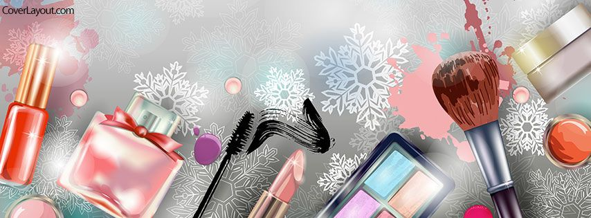 graphic freeuse Timeline clipart makeup cosmetic. Mix facebook cover coverlayout