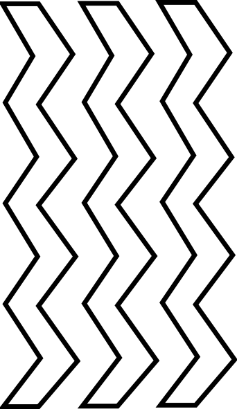 vector freeuse library zigzag template