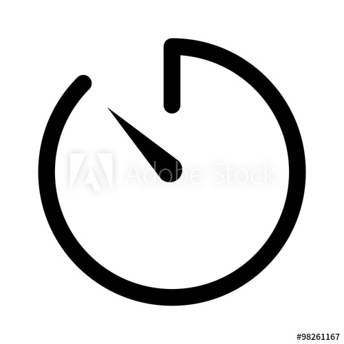 graphic transparent Timer vector. Countdown icon free icons