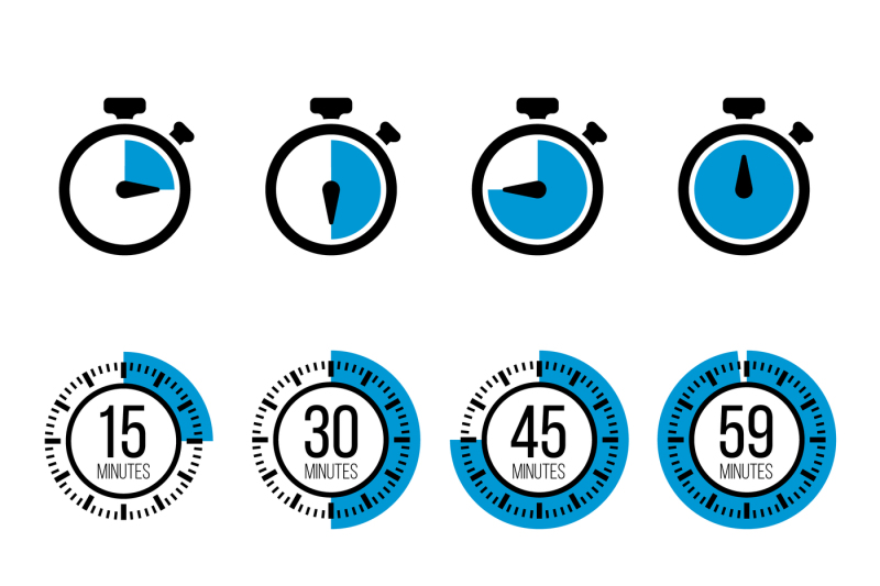 graphic download Icons by microvector thehungryjpeg. Timer vector