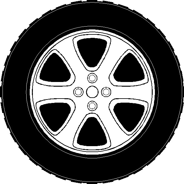 clip royalty free library Free tire cliparts download. Wheel clipart.