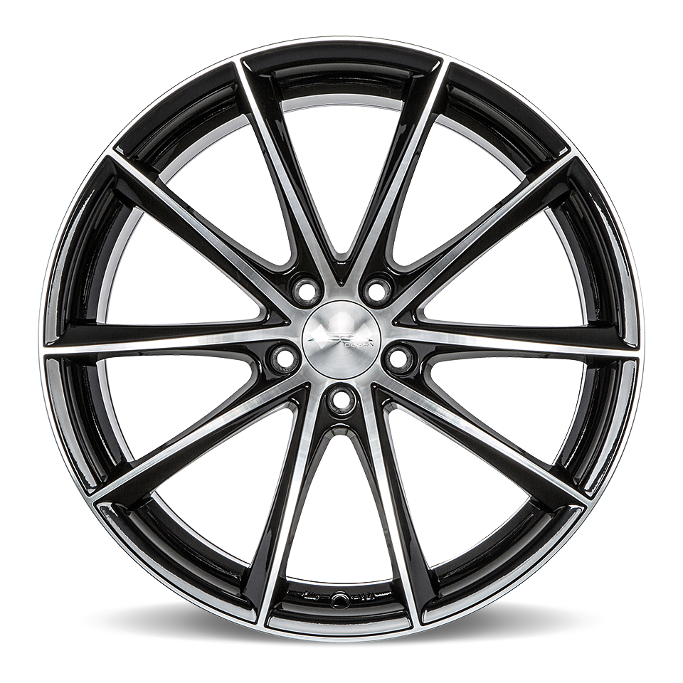 vector royalty free Acealloywheel com stagger bmw. Wheel black and white clipart.