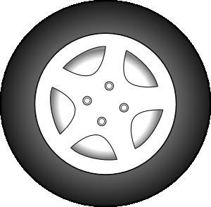 transparent Wheel Chrome Rims Clip Art