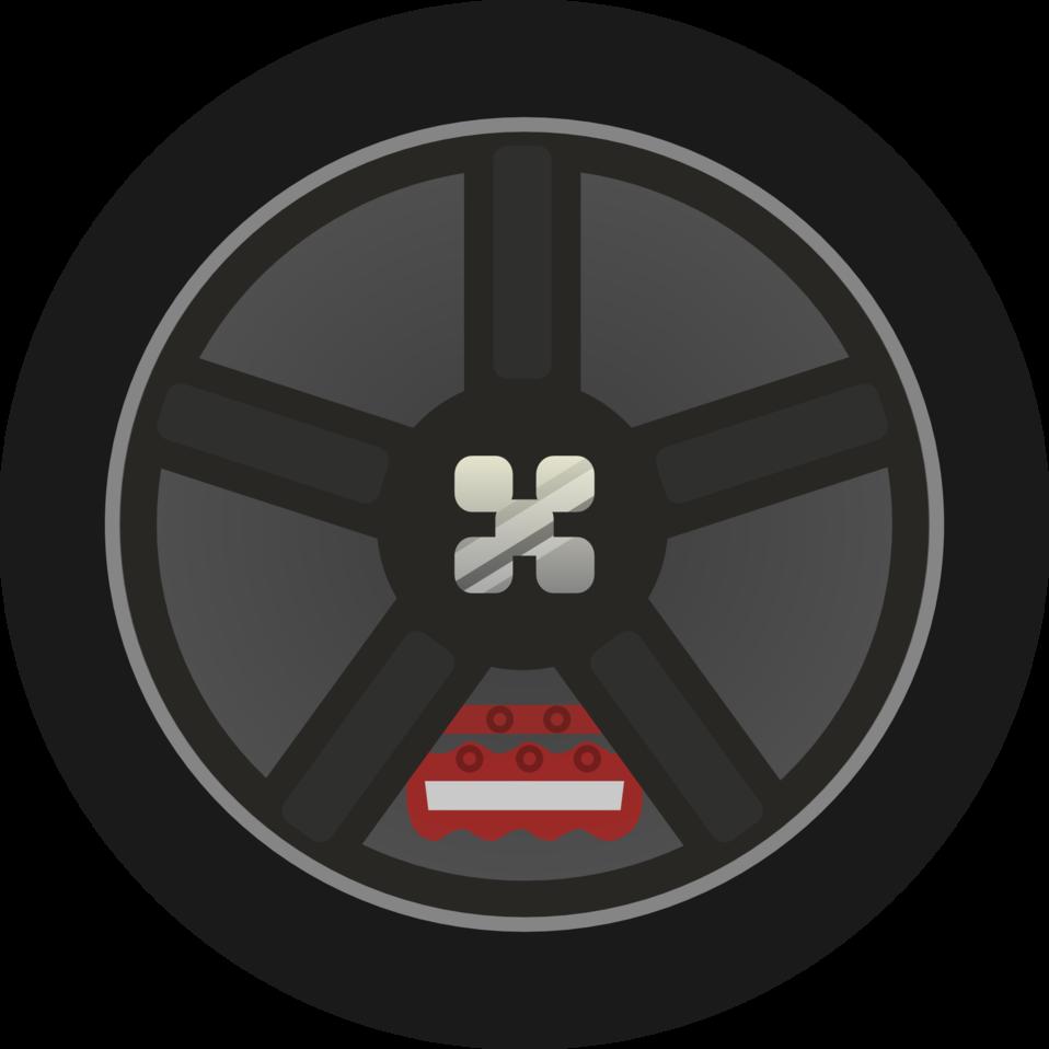 jpg free library Wheel Rim Clipart tyre side