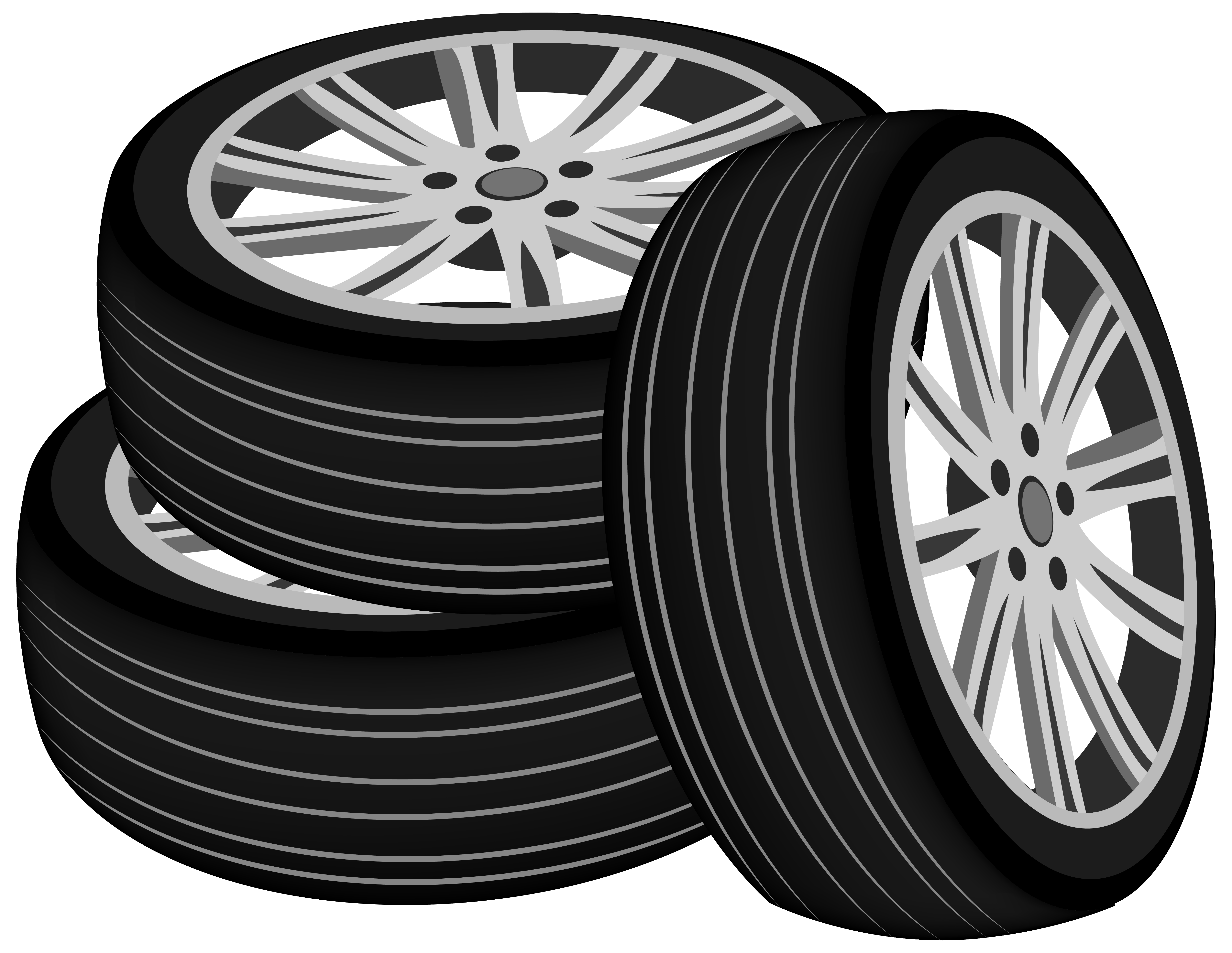 clip art black and white stock Png best web. Tires clipart