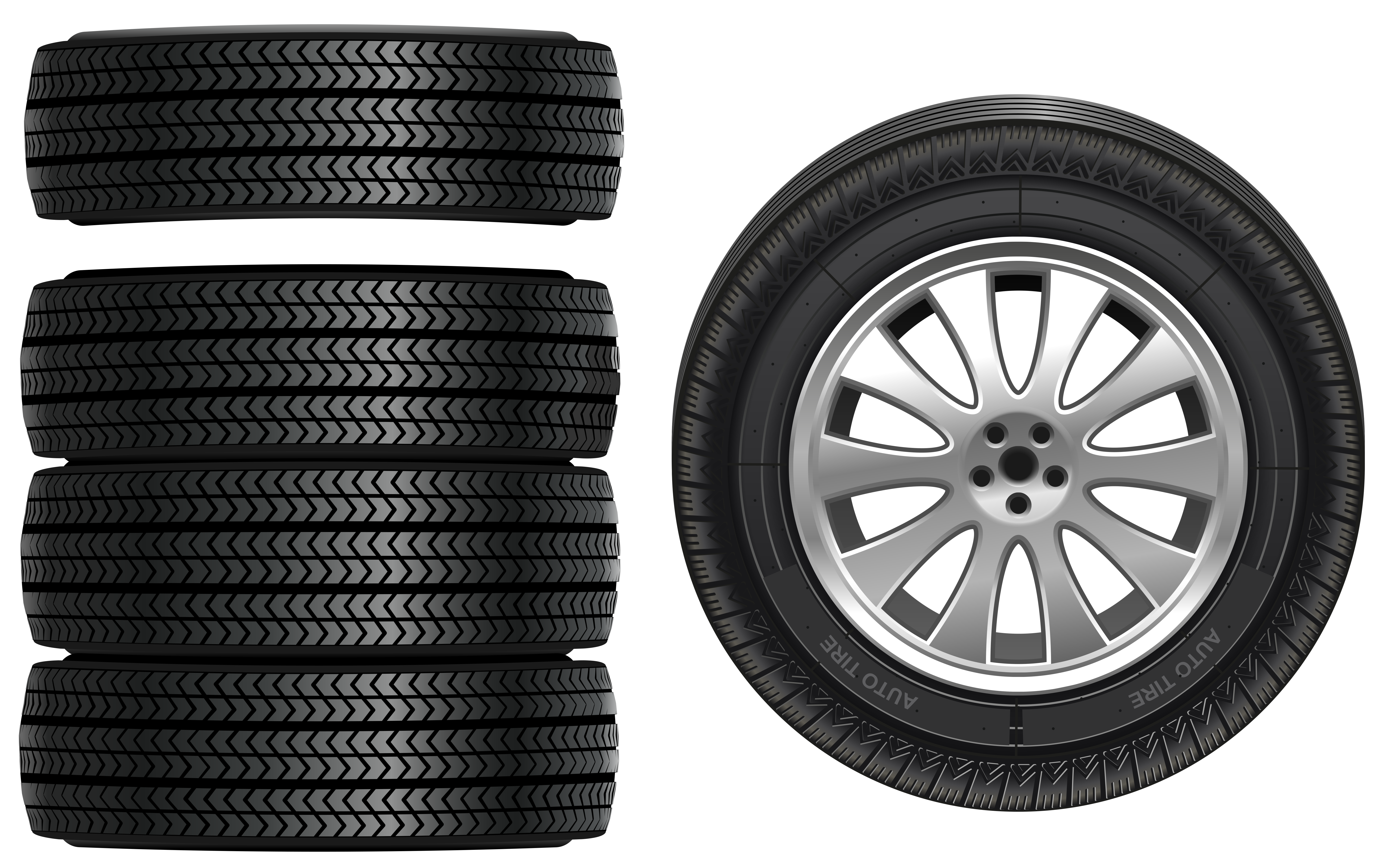 banner black and white stock Tires clipart. Png clip art best
