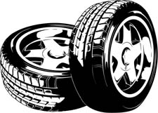 graphic royalty free library Tires clipart. Free tire cliparts download