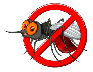 clip art freeuse Zika mosquitoes in savannah. Tires clipart mosquito breeding