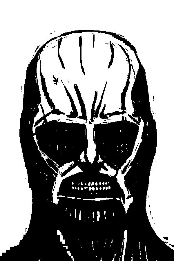 svg black and white Colossal Titan by genesischant on DeviantArt