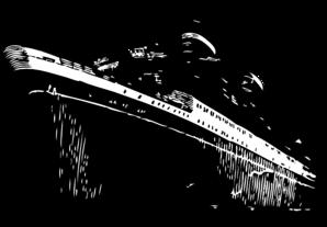 vector library library Ocean liner clip art. Titanic clipart