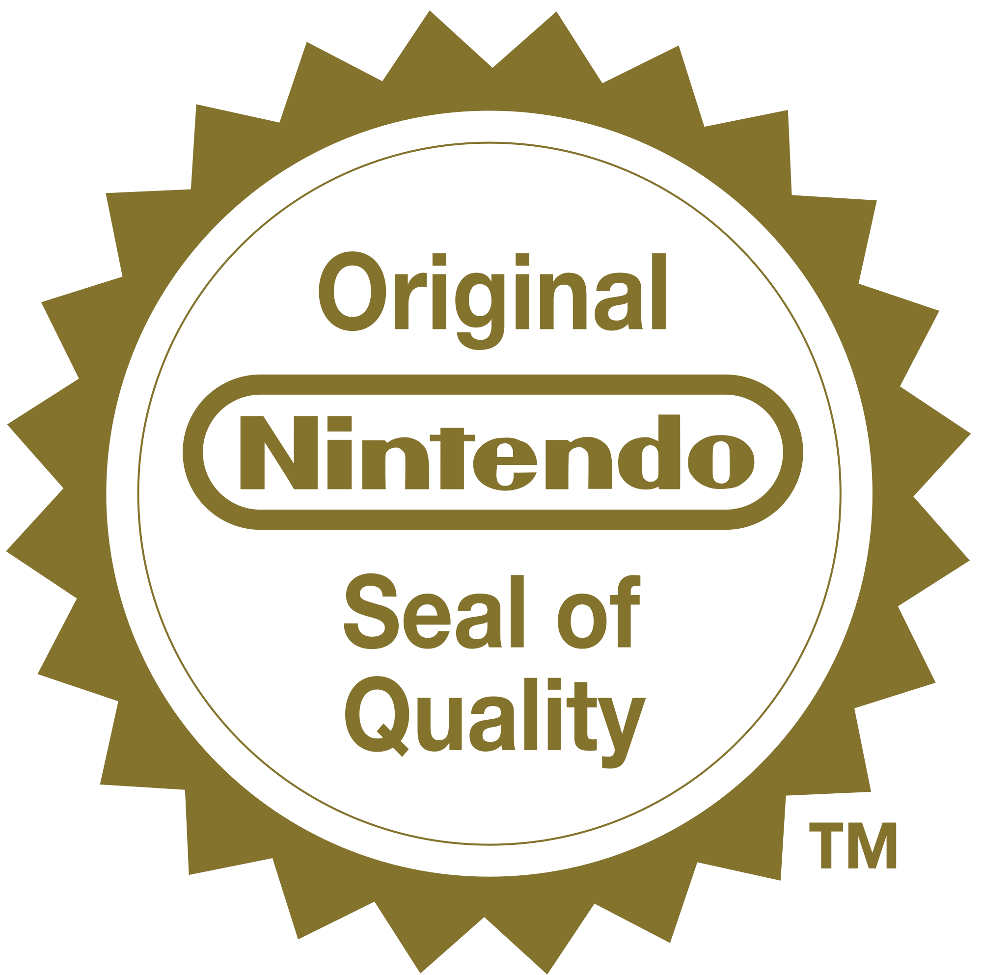 banner black and white download Vector emblem quality. File original nintendo seal