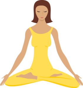 image library download Yoga Girl Clipart