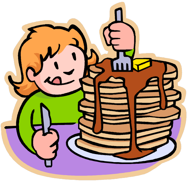 vector library download pancake breakfast fundraiser clipart #60041236