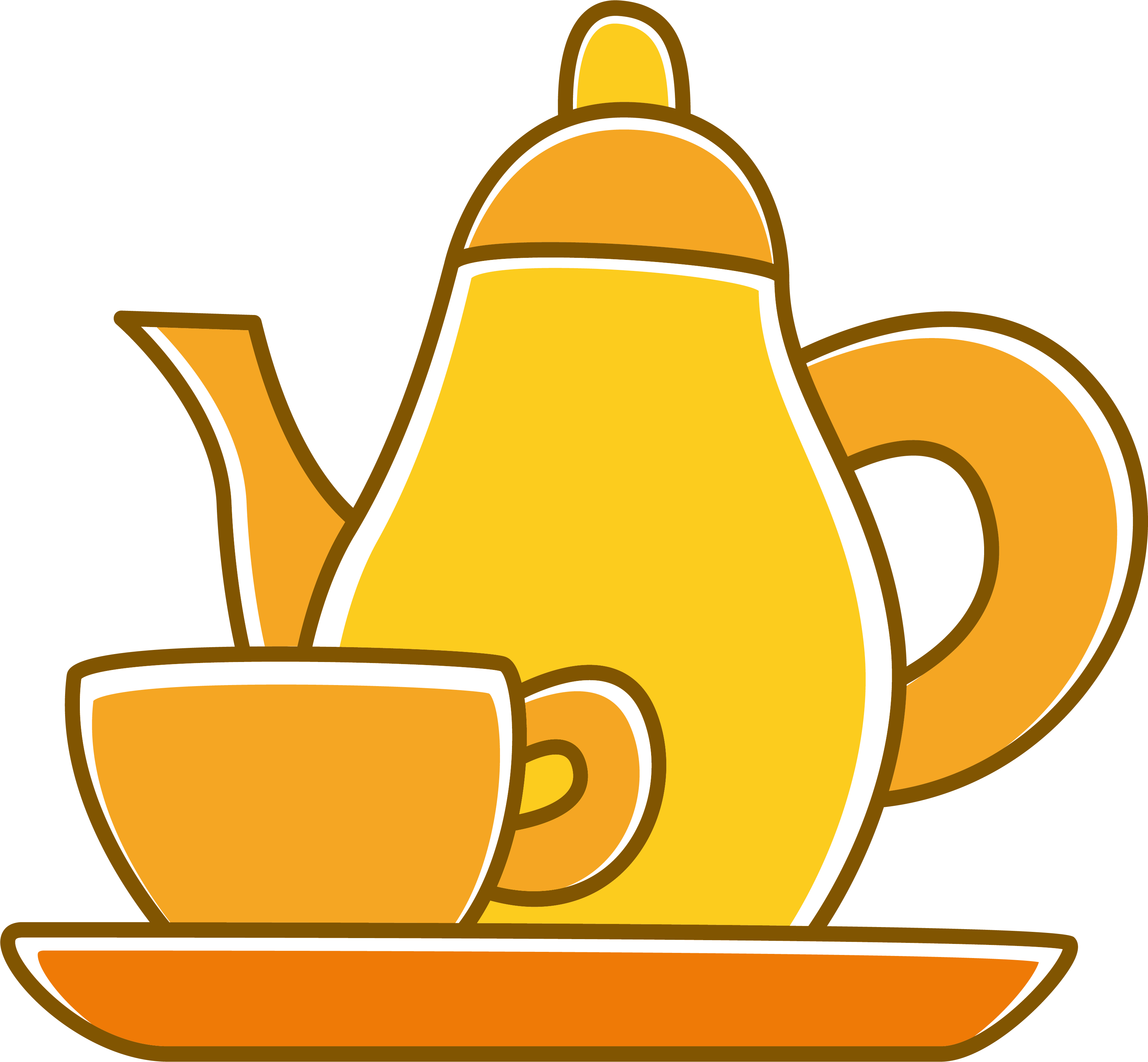 graphic free stock To go coffee cup clipart. Teaware clip art yellow