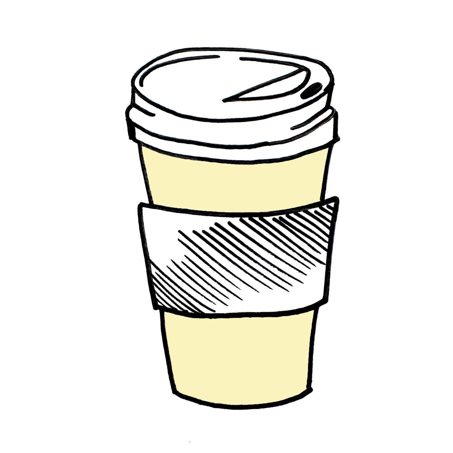 svg royalty free download Station . To go coffee cup clipart