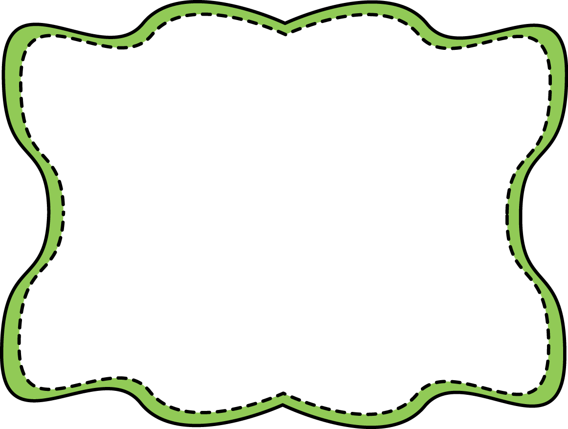 image library Frame Clipart green